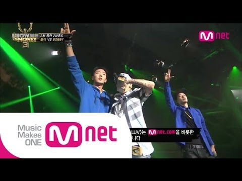 Mnet [쇼미더머니3] EP.08 :  BOBBY(바비) - L4L(Lookin' For Luv) (feat.Dok2 & The Quiett) @ 2차 공연