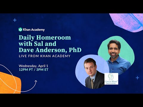 Daily Homeroom With Sal: Wednesday April 1