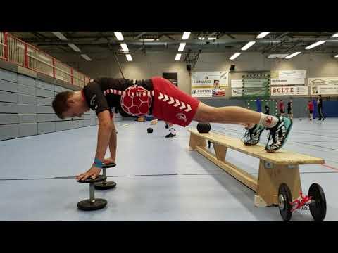 Handball athletics-Circuit training