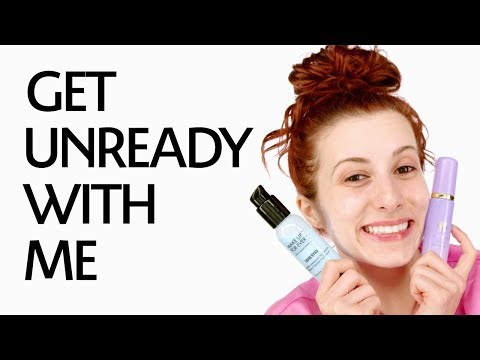 Get Un-Ready With Me: Sensitive Skin Skincare Routine