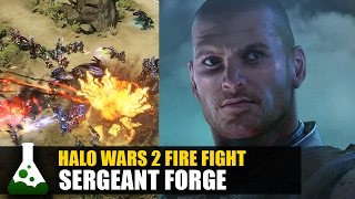 Halo Wars 2 Blitz Fire Fight - Sergeant Forge Gameplay