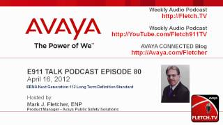 E911 Talk 80 - Emergency Services Goes Global With EENA NG112 LTD
