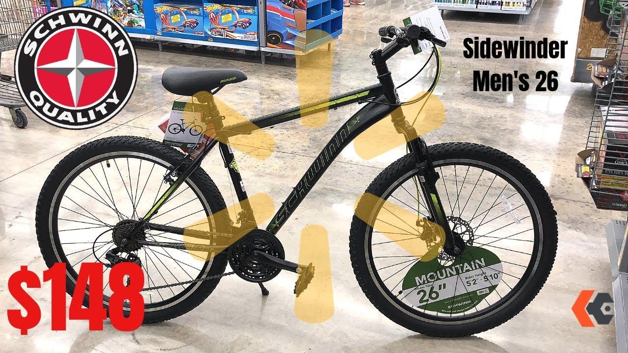$148 Schwinn Sidewinder 26 Men's Bike from Walmart