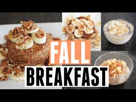 EASY Fall Breakfast Ideas | Vegan