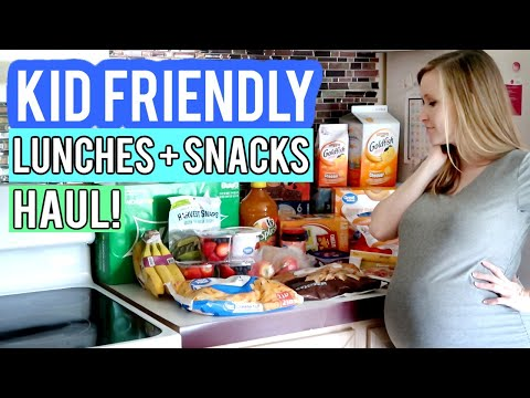 KID FRIENDLY GROCERY HAUL   KID LUNCHES & SNACKS HAUL