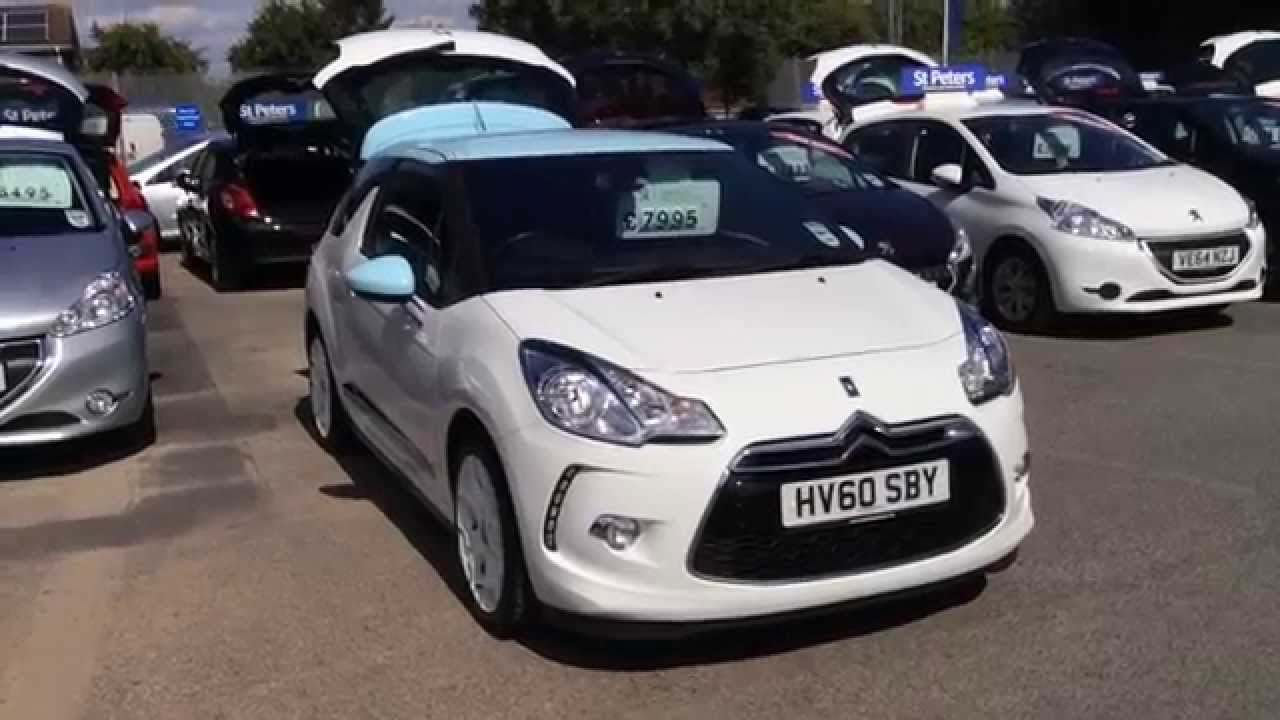 2010 Citroen Ds3 1 6 Vti 120hp Dstyle Hv60 Sby At St