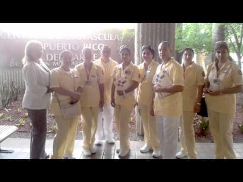 Graduacion programa RN ( Sagrado corazon)/ RN program capping (Sacred Heart) 2012