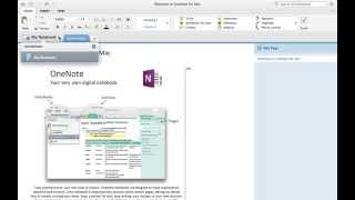 How to create Table of Contents - MS OneNote (Mac)