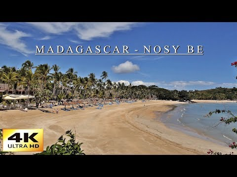4K Madagascar - Nosy Be - Andilana Beach - Travel Video 2. Teil