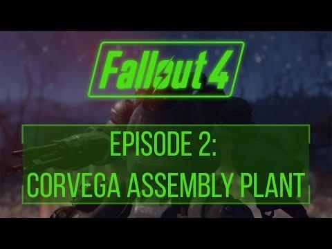 FALLOUT 4 (Vanilla) Ep. 2: Corvega Assembly Plant