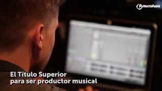 Sonología: Título superior de música. Estudia para ser productor musical.