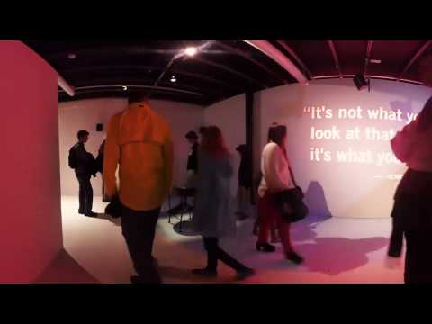 'Seeing' at Dublin Science Gallery (360˚ Video)