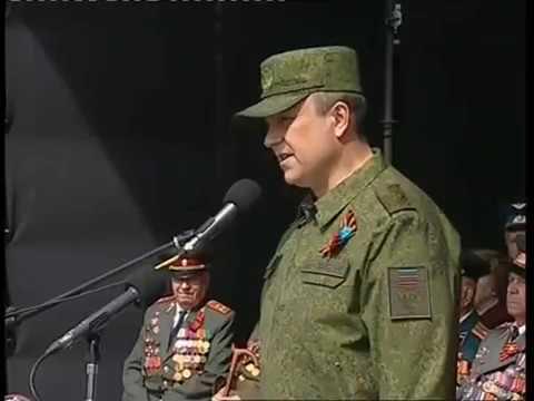 Victory Parade in Lugansk 9 May - Lugansk Anthem 2018