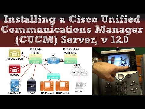 Installing a Cisco Unified Communications Manager (CUCM