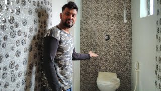 latest bathroom design 2019/Tiles bathroom design/wash basin/price details /Modular bathroom design