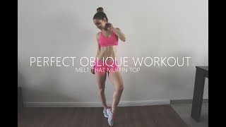 Perfect Oblique Workout In 8 Minutes ❤ Melt That Muffin Top