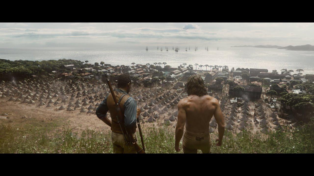 LEGENDEN OM TARZAN - Biopremiär 13 juli - Officiell trailer 2 HD