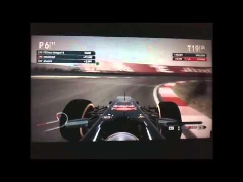 F1 2012 Inter Forum Catégorie 1: 100% 6ème course Shanghai
