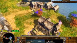 Saratoga - Age of Empires 3 The Warchiefs - Act 1 Mission 5 - Hard