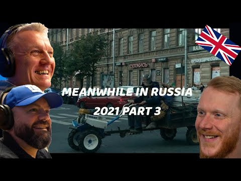 Meanwhile in Russia 2021 REACTION!! | OFFICE BLOKES REACT!!