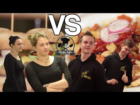 Koju Šefs / 1EP / Burgers pret Rīsiem