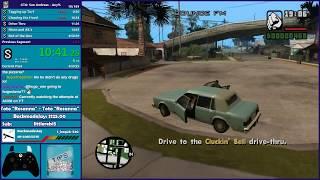 GTA San Andreas Any% Speedrun PB Attempt - Hugo_One Twitch Stream - 3/5/2018