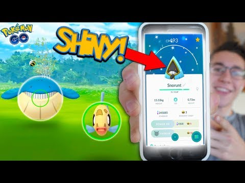 Download Youtube: *SHINY SNORUNT!* CATCHING BRAND NEW GEN 3 MONS IN POKÉMON GO UPDATE EVENT!