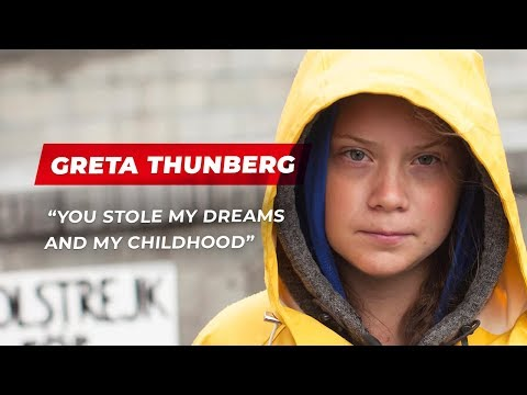 Greta Thunberg's speech to world leaders at UN Climate Action Summit