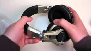 Shure SRH750DJ Headphones Unboxing
