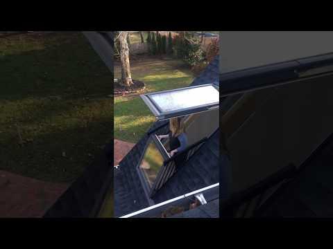 Velux Cabrio Balcony Window #hichickens