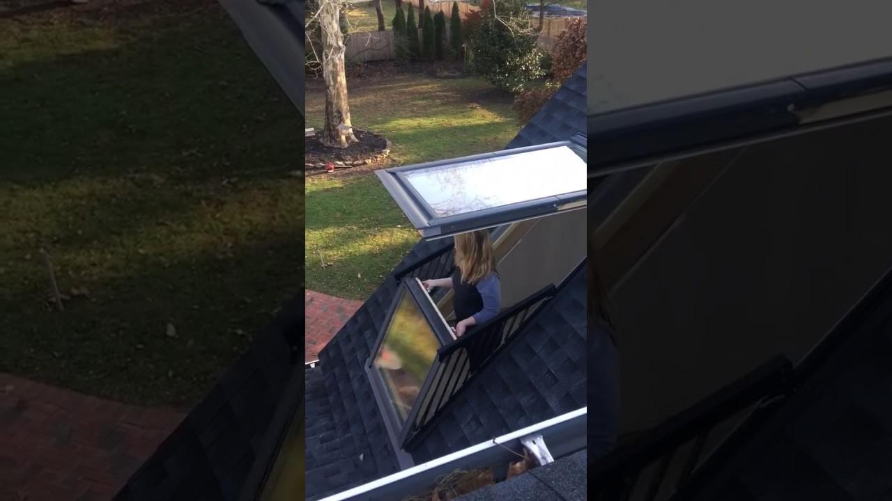 Velux Cabrio Balcony Window Hichickens Youtube