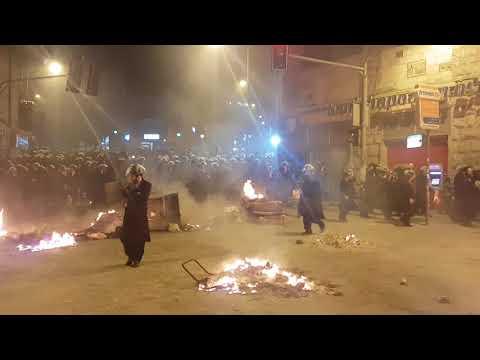 סיום העצרת בכיכר השבת