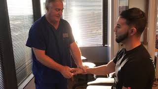 """South Texas """"Crack Addict"""" Fan Adjusted By Houston Chiropractor Dr Gregory Johnson"""