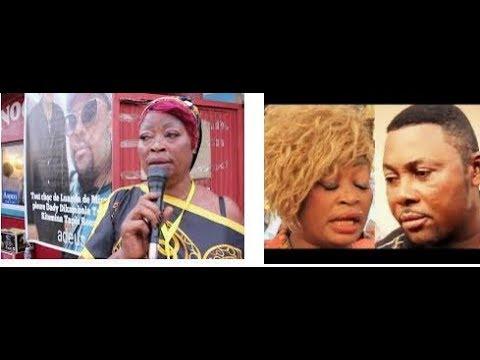 TRISTE LA MORT DE DADY DIKAMBALA: MIRAESA NA ANGOLA INCONSOLABLE ALELI FORT
