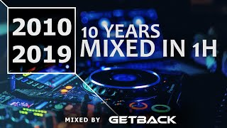 2010-2019 Decade Mix: Best EDM Tracks, Remixes & Mashups mixed by DJ GetBack