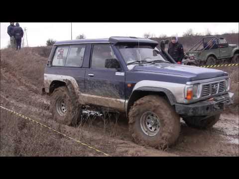 Nissan Patrol Y60 4.2TD, 2.8TD, Pajero off-road Piątnica 11-01-2015