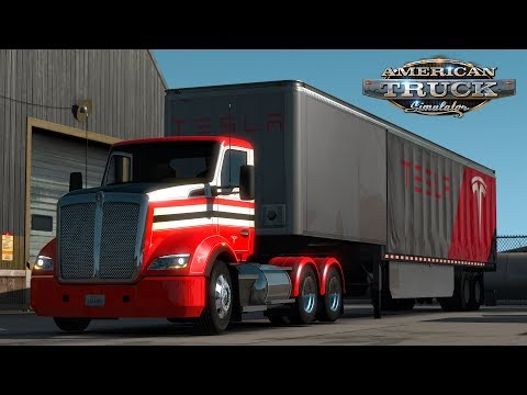 American Truck Simulator: Kenworth T610 - Tesla - Flagstaff to Grand Canyon, Arizona