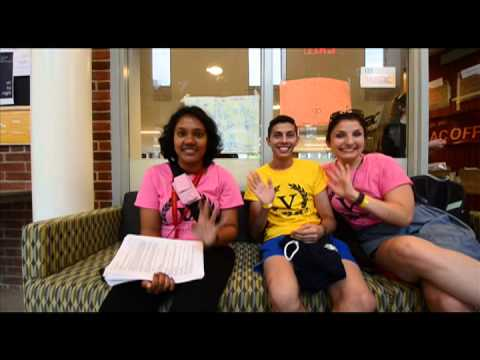 Day Two: Settling In | Victoria College Orientation 2014