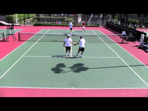 2011 Pacific Coast Seniors 40s Doubles Tennis Match