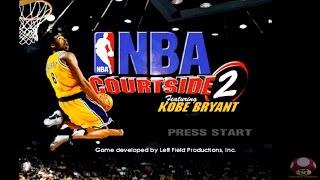 NBA Courtside 2: Featuring Kobe Bryant (Nintendo 64): Intro - Abertura HD
