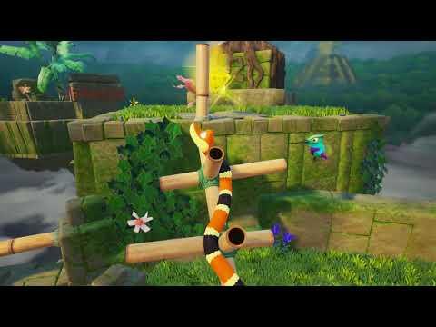 Snake Pass Xbox One X Gameplay