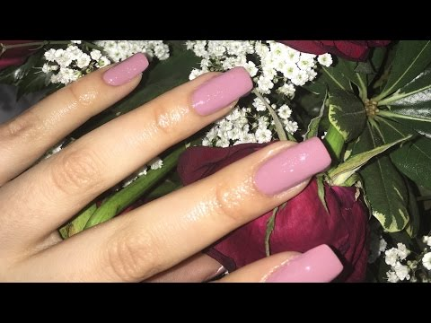 Acrylic Nails Design Easy At Home Tutorial