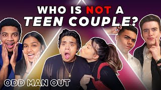 6 Teen Couples vs 1 Fake Couple | Odd Man Out