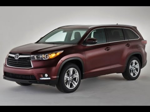 2014 Toyota Highlander Limited Start Up and Review 3.5 L V6