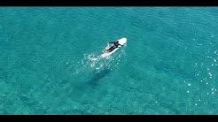 Drone surfing video at Te Arai - short version