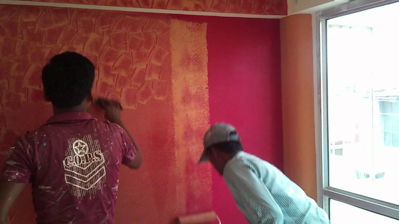 asian wall painters raam ishwar raipur chhattisgar youtube - Asian Paints Wall Design