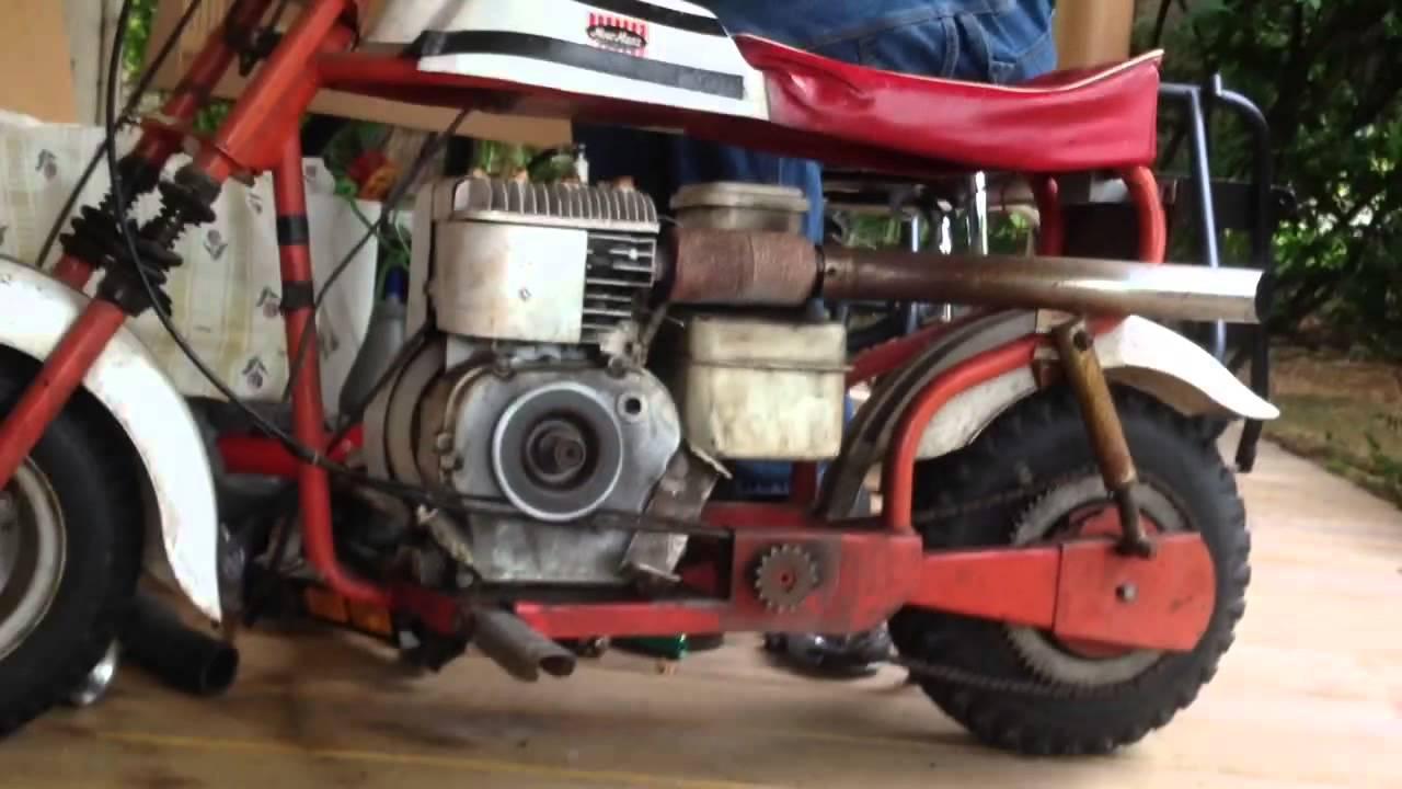 Fox Minibike Clutch Explosion Youtube