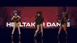 [MMD] Genshin Impact Helltaker Dance