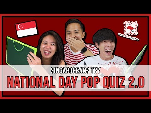 Singaporeans Try: National Day Pop Quiz 2.0 | EP 114