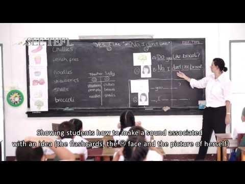 What is the PPP English Teaching Methodology?   SEE TEFL